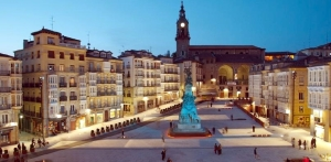 Plaza de la Virgen Blanca de Vitoria-Gasteiz | Foto: Internet