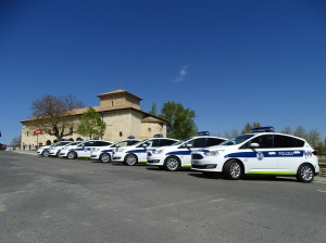 Nuevos coches de la Policía Local