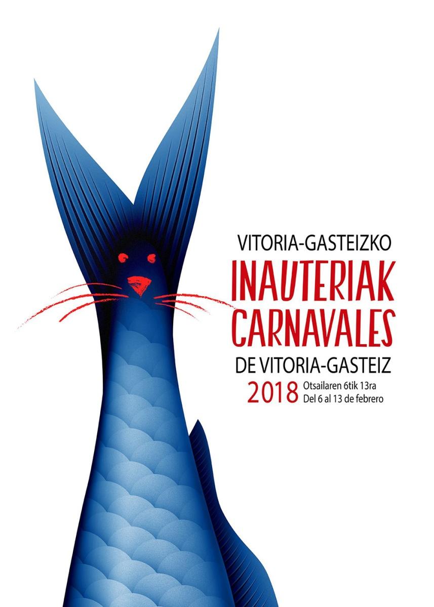 ¡El Carnaval 2018 de Vitoria-Gasteiz ya tiene cartel!